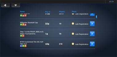 888poker mobil screenshot 4