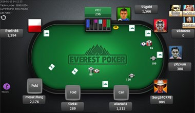 everest poker klient