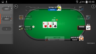 party poker android screenshot