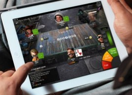 unibet poker ipad screenshot