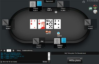 Party poker klient